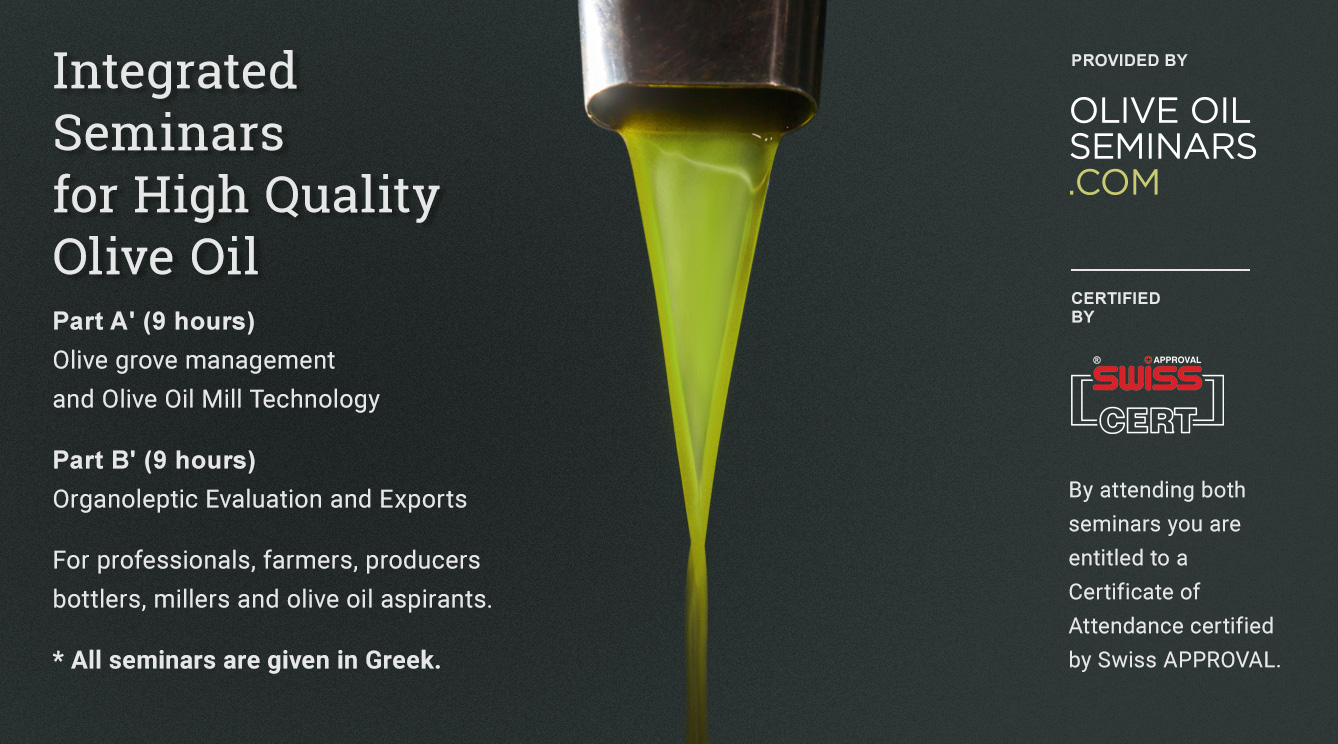 Olive Oil Seminars – Oliveoil seminars for consumers and oil